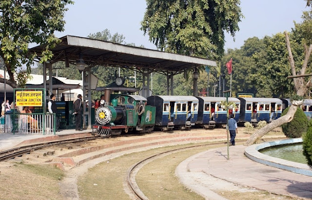 National Rail Museum, Best Places to Visit in Delhi