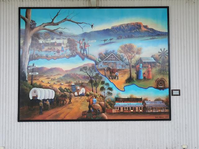 Jindera Mural by Marian VanDorssen