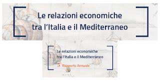 Le relazioni economiche tra l'Italia e il Mediterraneo