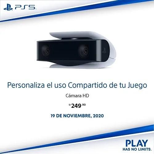 PRECIO CÁMARA HD PLAYSTATION 5 OFICIAL