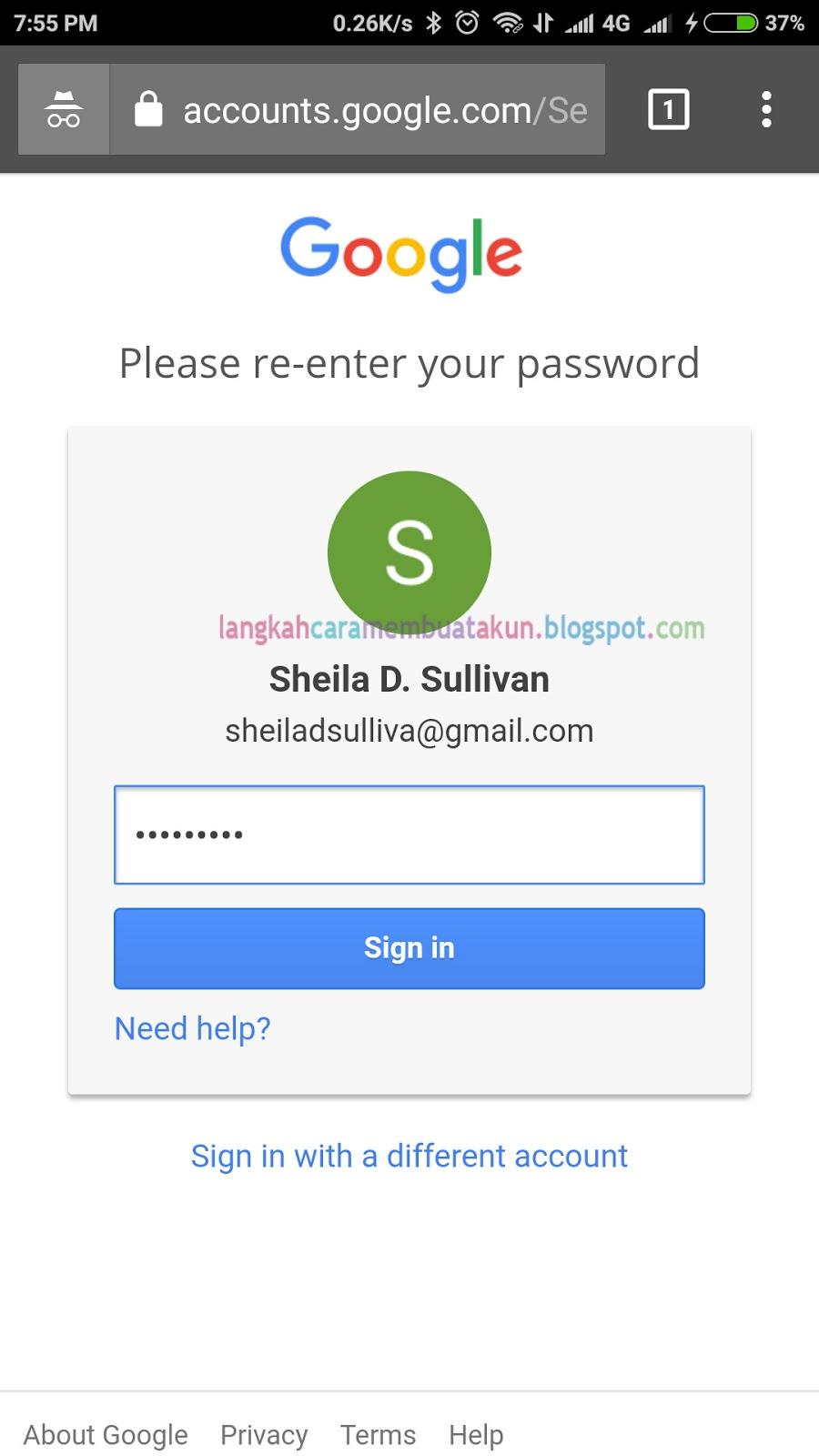 Cara Mengubah Kata Sandi Akun Google | Ganti Password