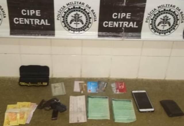 Barra da Estiva: Cipe Central prende empresário envolvido em receptação de veículos roubados