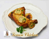 viaindiankitchen - Lemon Chicken