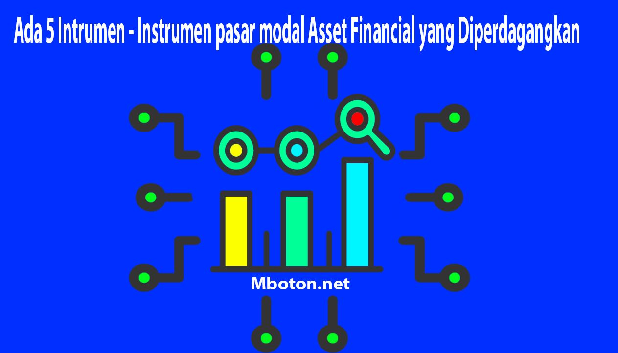 Instrumen pasar modal Asset Financial yang Diperdagangkan