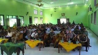 Kodim 0809/Kediri Kumpul Bareng Petani ,Perluas Daya Serap Gabah