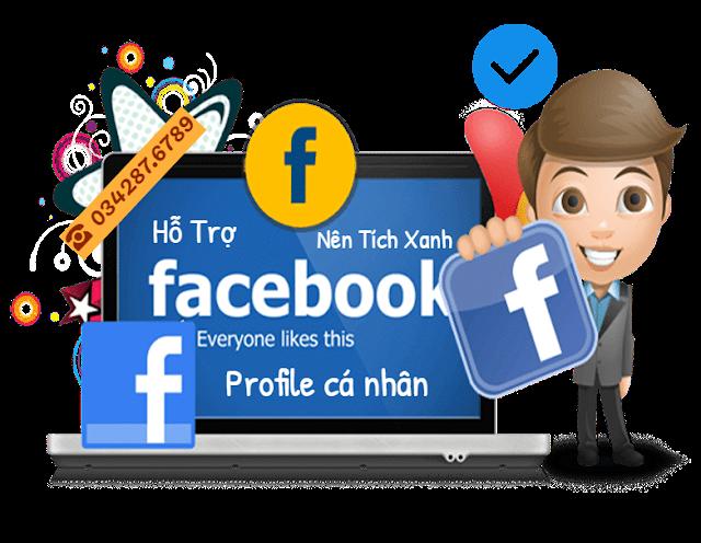 Dịch vụ hỗ trợ nên tích xanh cho profile cá nhân facebook