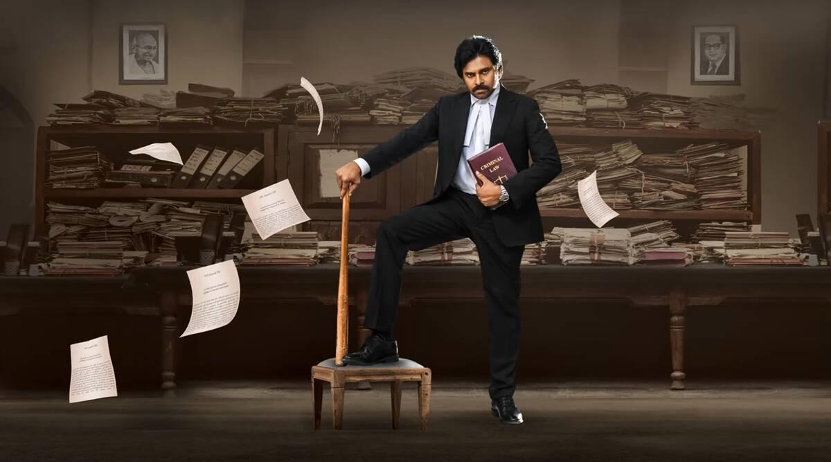 power Star Pawan Kalyan Movie Vakeel Saab Motion Poster Released