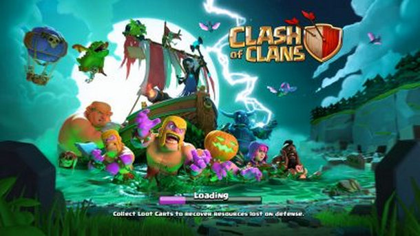 لعبة كلاش أوف كلانس Clash of Clans