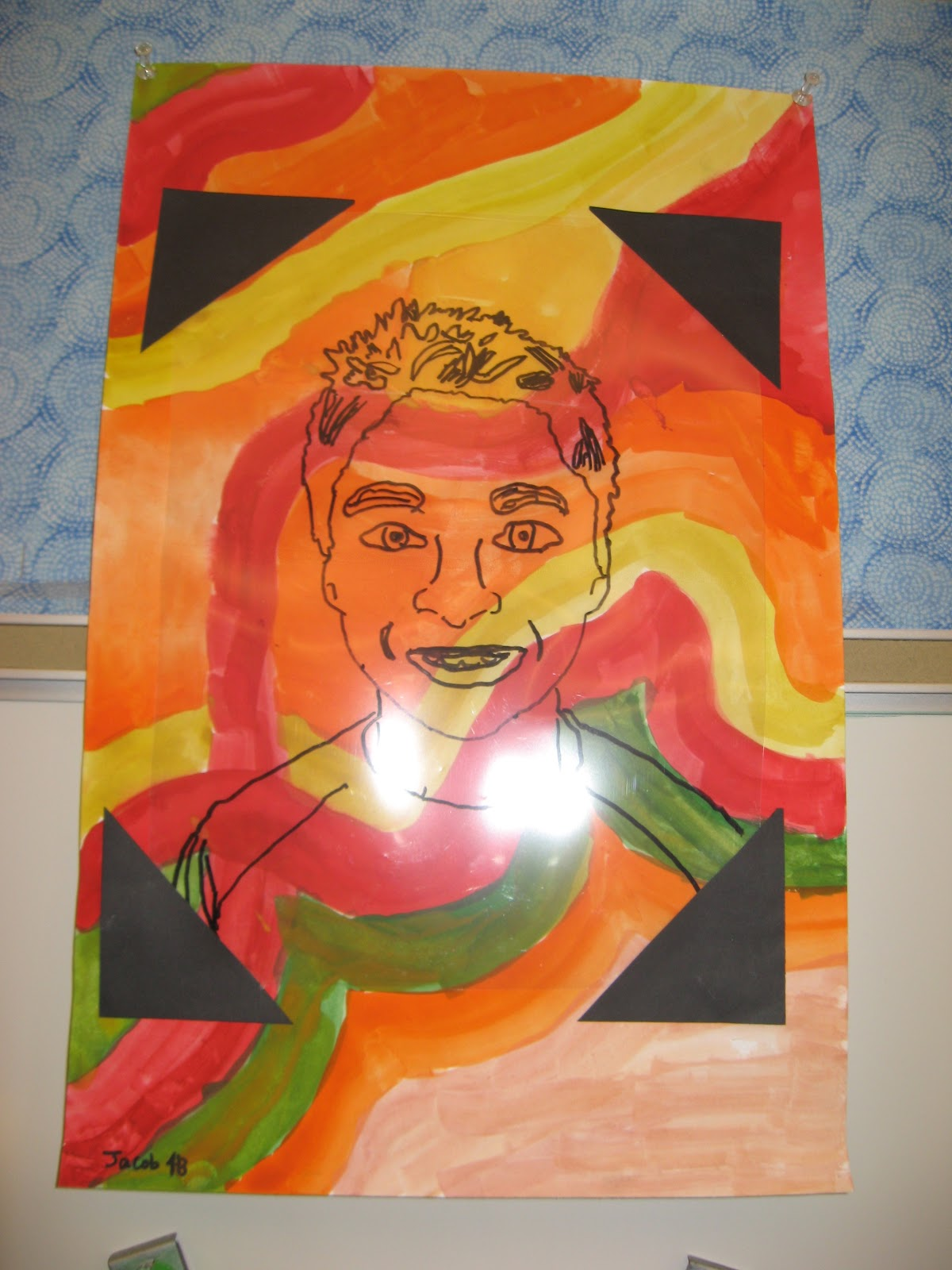 Jamestown Elementary Art Blog 4th Grade Self Portraits Mary Cassatt