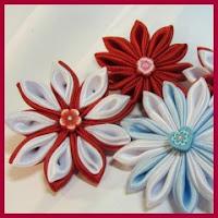 Flores en raso