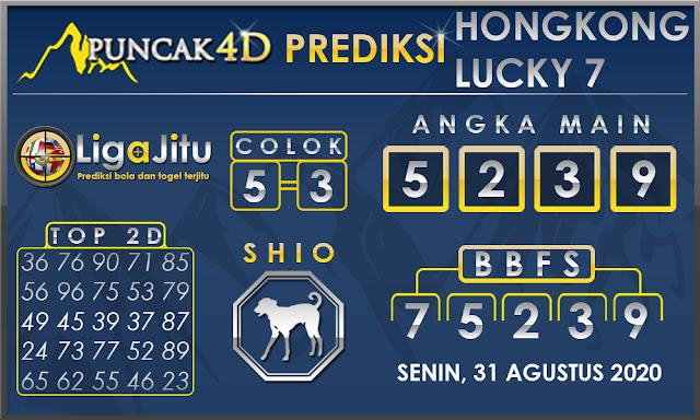 PREDIKSI TOGEL HONGKONG LUCKY7 PUNCAK4D 31 AGUSTUS 2020