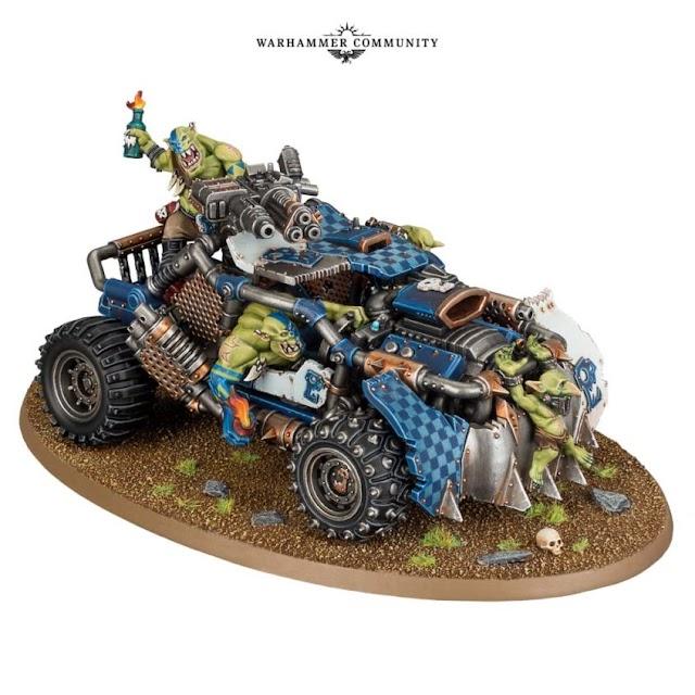 Warhammer Citadel Announcements.... Speedfreaks......