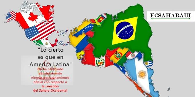 El Sahara Occidental en America Latina