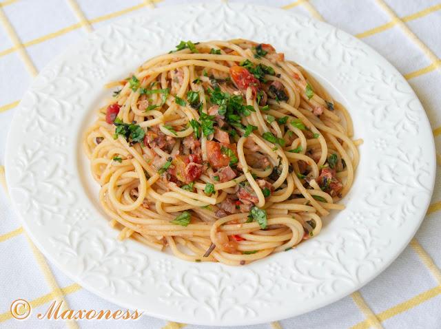 Спагетти «алла трапанезе». Итальянская кухня