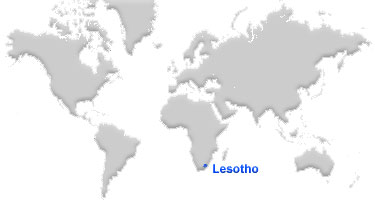 image: Lesotho Map location