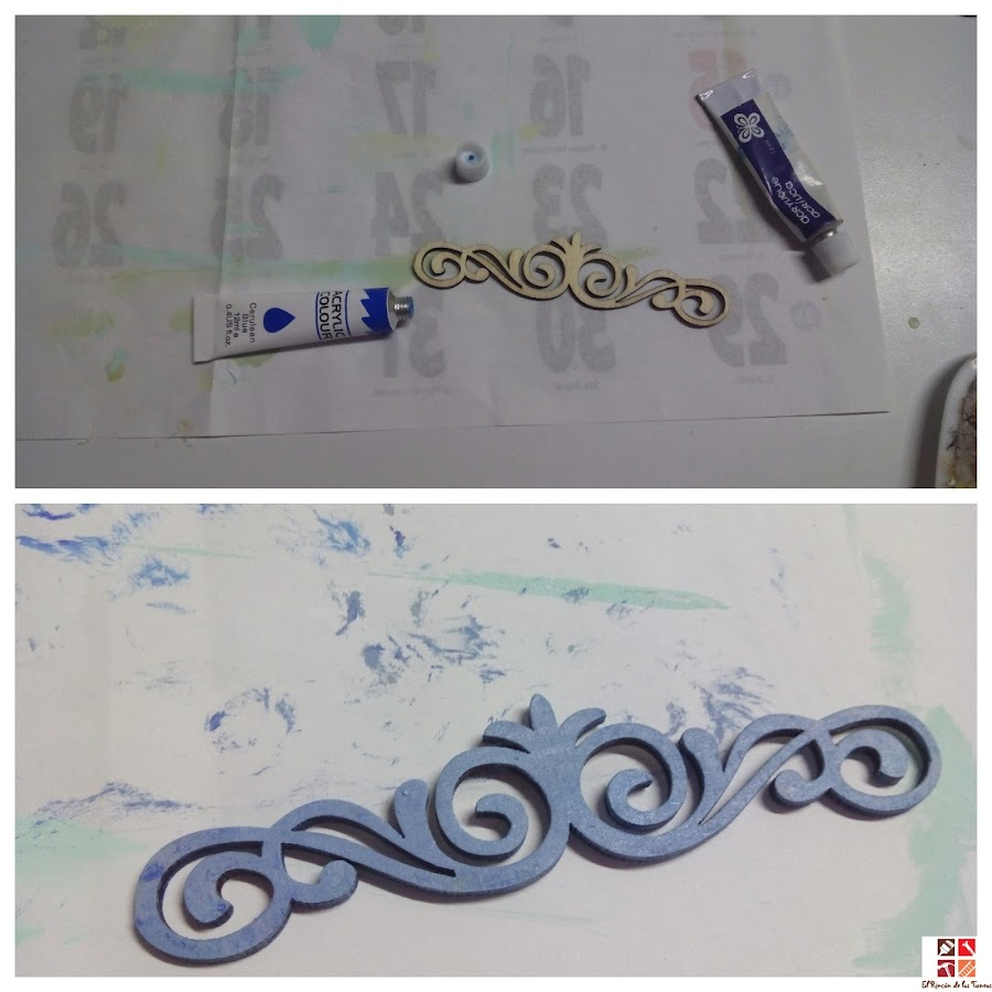 como hacer cuadros con molduras de poliespan