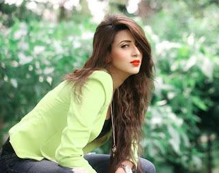 Bidya Sinha Saha Mim Cute Hot Selfie