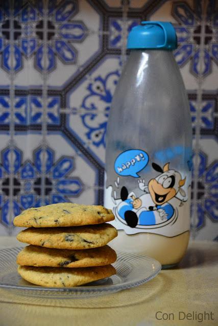 עוגיות עם שברי שוקולד chocolate chunks cookies