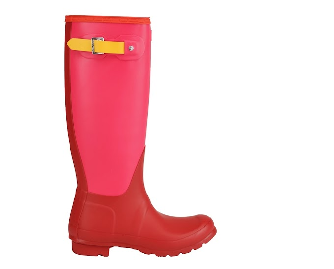Hunter Women's Original Colorblock Tall Rain Boots