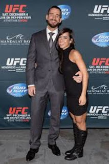 Cm Punk With His Wife Aj Lee