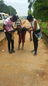 Touching story of how, HOMELESS,DEAF,BLIND and DUMB man found succour in the hands of good Samaritans (photos)