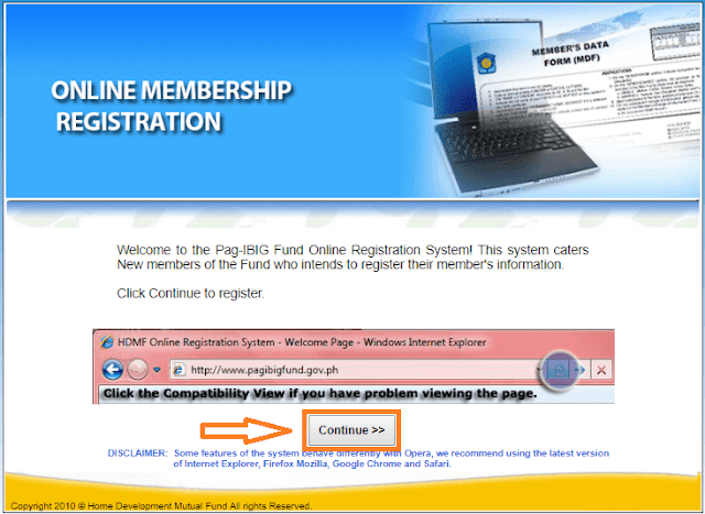 pagibig online membership