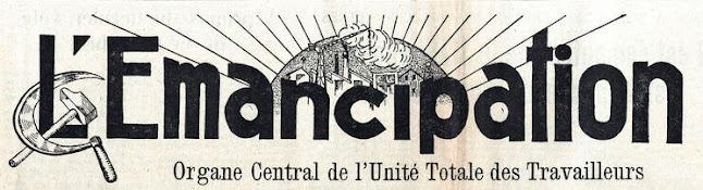 L'emancipation, Jacques Doriot, Parti Populaire Français, partito Popolare francese, unite totale de travailleurs