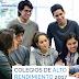 Colegios de alto rendimiento 2017 - Admision 2018 - según la Universidad del Pacifico