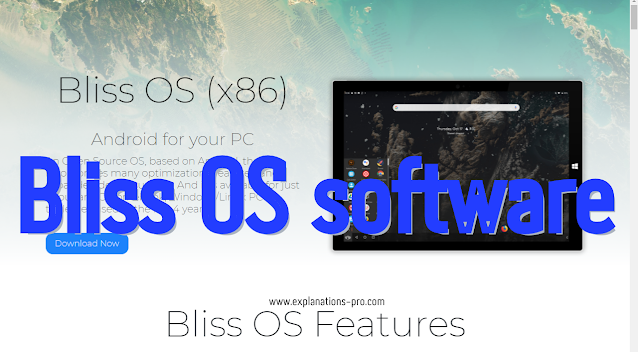 Bliss OS software