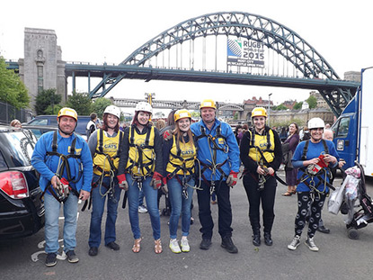 Fundraisers getting ready to take the plunge
