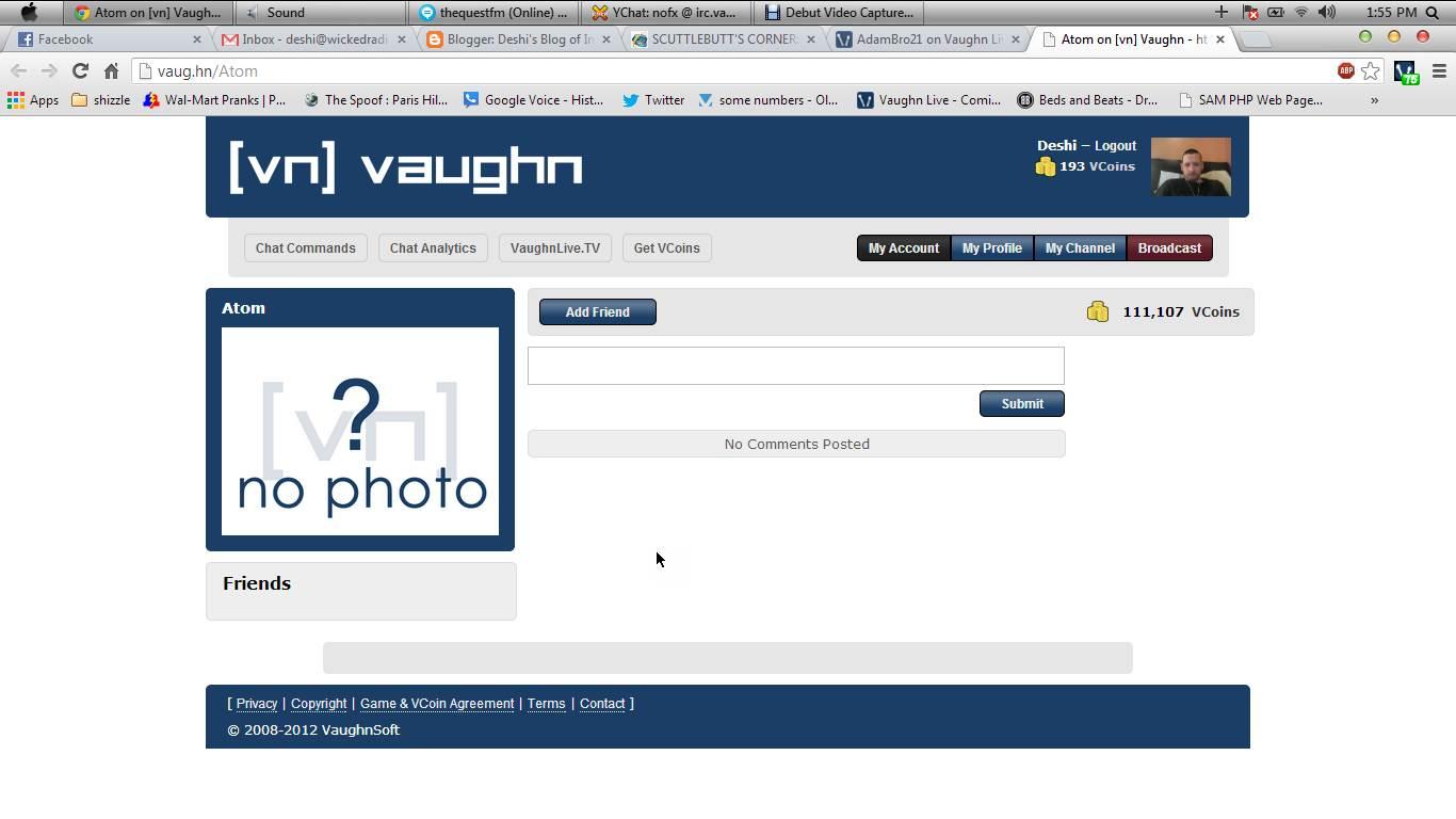 Deshi's Blog of Internet Chaos: April 2013