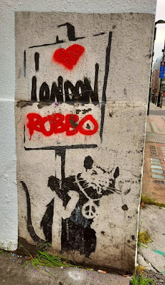 Banksy - I love London Robbo