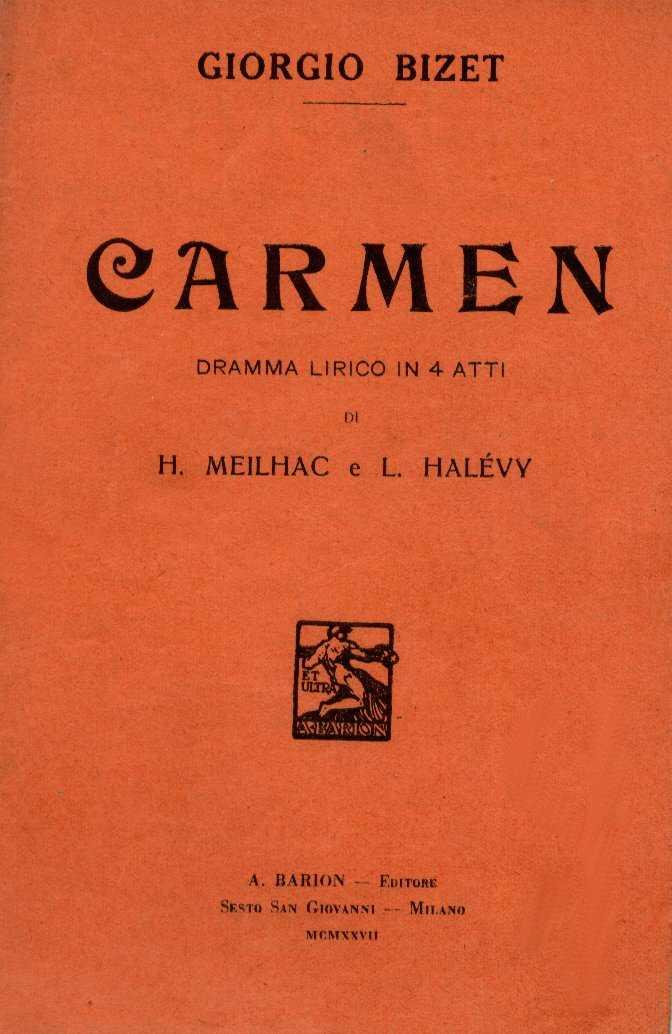 Libretto di Henri Meilhac e Ludovic Halévy 1927