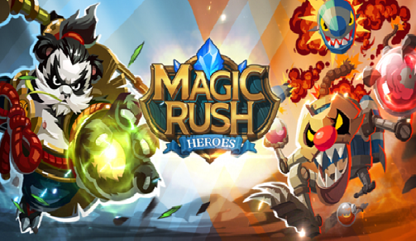 Download Magic Rush Heroes Apk Mod Unlimited Diamonds and Gold Generator