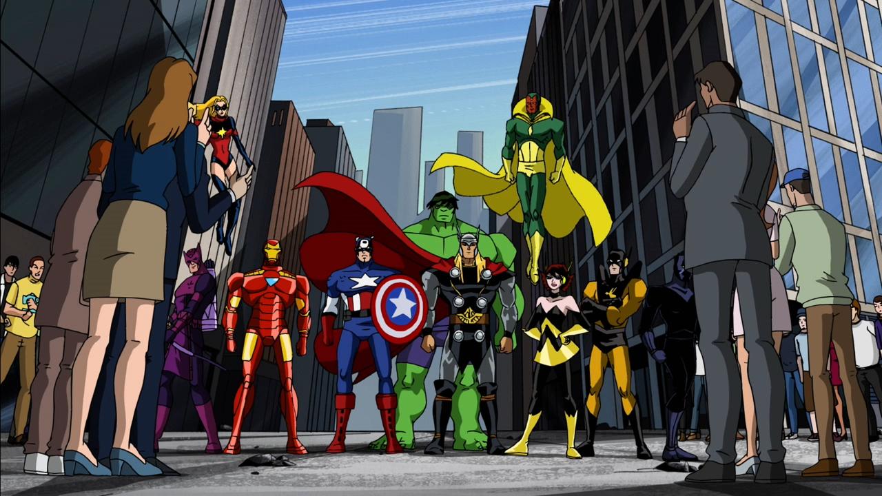 Vengadores: Los héroes más poderosos de la Tierra