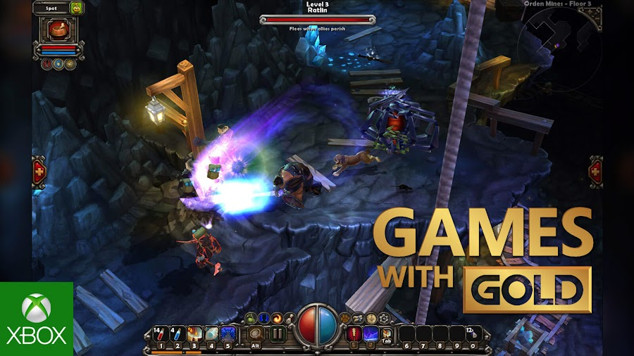 torchlight xbox live gold free game runic games xb1