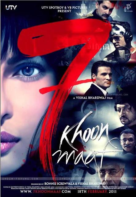 7 Khoon Maaf (2011) ταινιες online seires oipeirates greek subs