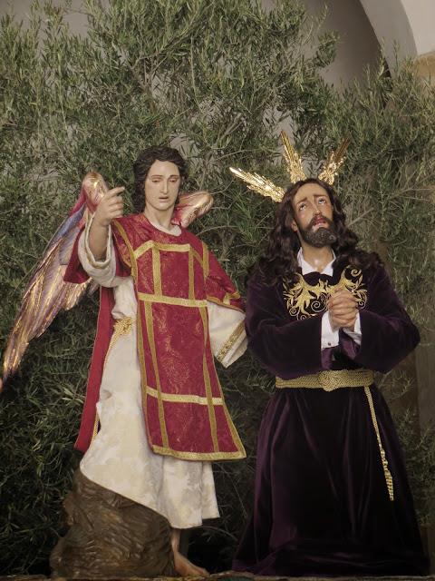 Resultado de imagen de PASO  DE JESÚS EN EL HUERTO DE LOS OLIVOS de jaen