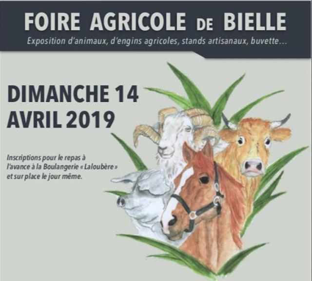 Foire agricole de Bielle 2019