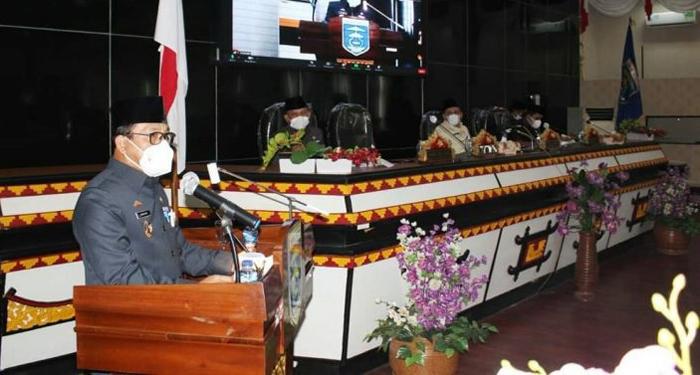 DPRD Kota Metro Menggelar Paripurna LKPJ Walikota