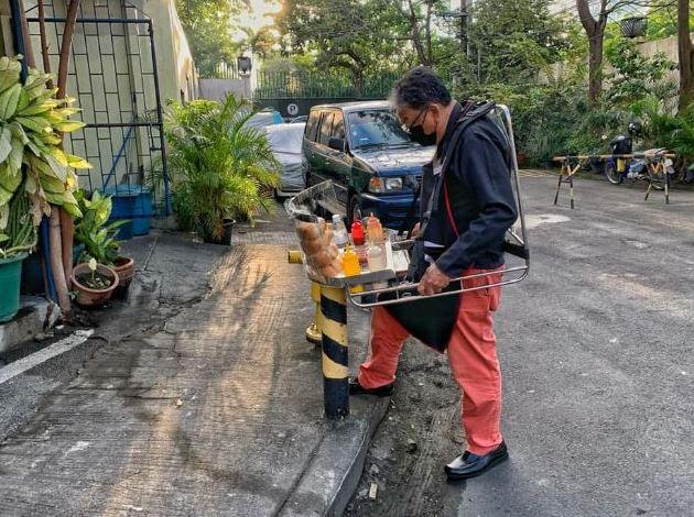 Stroke survivor goes viral as he sells hotdogs Makati