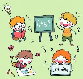 Resultado de imagen de nens jugant a mates dibuixos