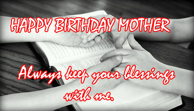 happy birthday in heaven mom images