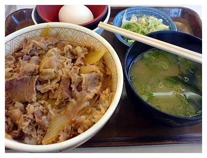Hidangan Makanan Jepun Gyudon