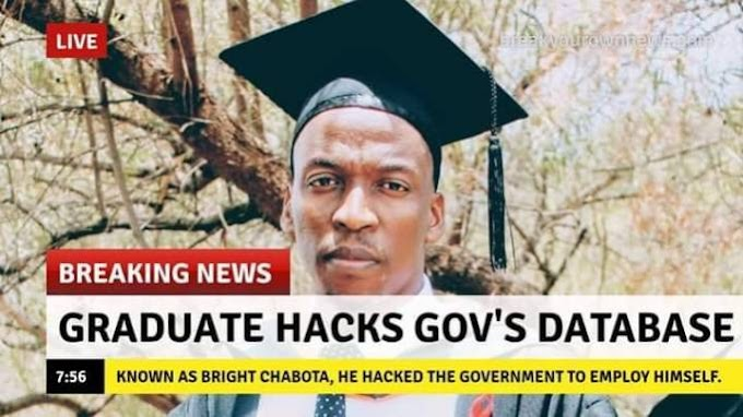 Graduate hacked government database and employ himself