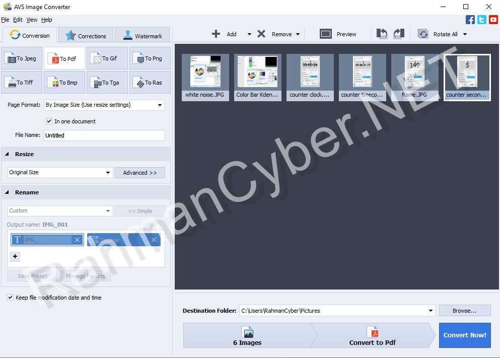 CONVERT PDF AVS CONVERTER
