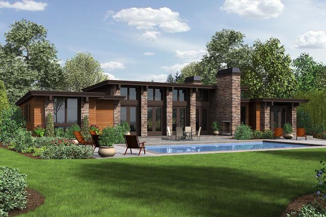 Desain Rumah Sederhana Modern Minimalis 1 Lantai