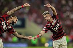Flamengo bate Inter, vence oitava seguida e se mantém na liderança
