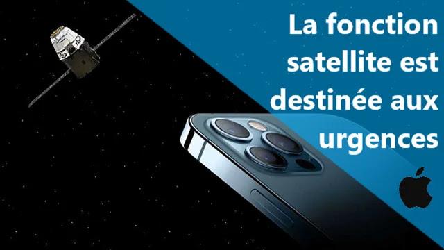 iPhone 13 : La fonction satellite est destinée aux cas d'urgences.