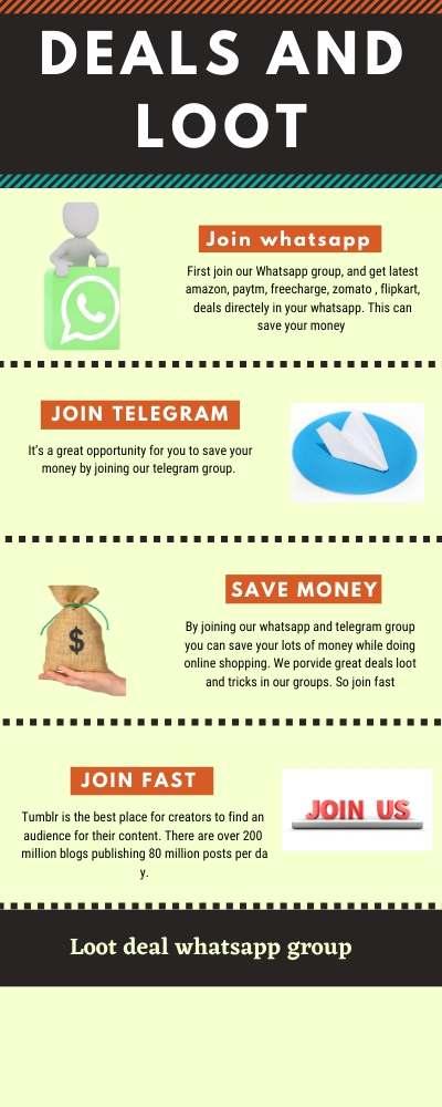 Loot Deals WhatsApp Group